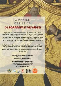"""A Pasquetta """"La Sorpresa è nei Musei"""" di Saluzzo"""