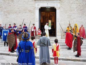 Corteo storico di Fiorentino e Federico II e Terrae maioris