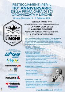 "110° Anniversario ""Ski Racing in Limone"""