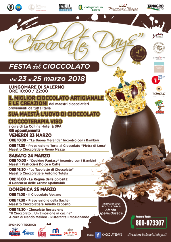CHOCOLATE-DAYS-Salerno-locandina-appuntamento-date-nuove