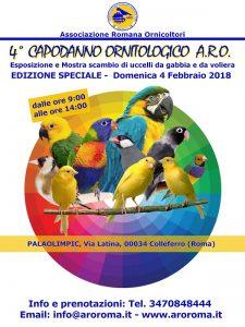 Capodanno Ornitologico 2018