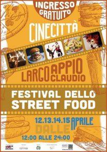 Festival dello Street Food a Cinecittà