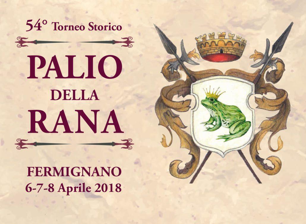 Fronte cartolina Palio della Rana 15x11 PALIO copia