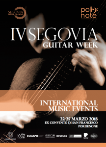 IV Segovia Guitar Week