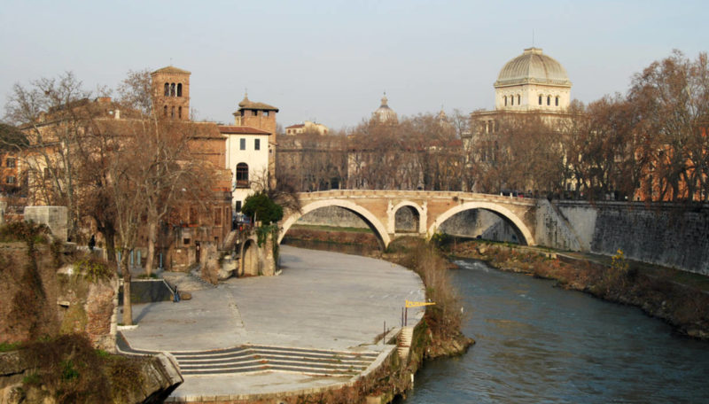 City of Rome - Tiber Island - Italy 037