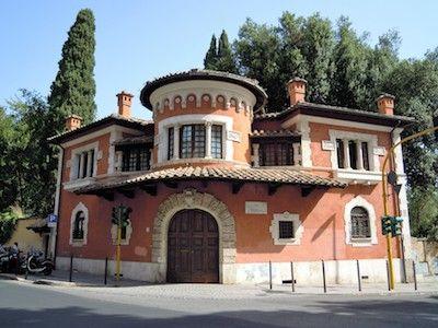Roma-Villa-Torlonia-Villino-Rosso