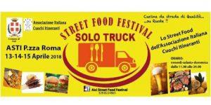 Solo Truck Street Food Festival Asti