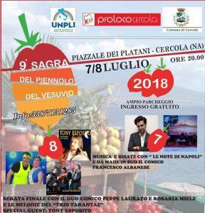 9^ Sagra del Pomodorino del Piennolo del Vesuvio