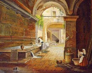 I sotterranei dell'acquedotto Virgo e il Percorso dell'Acqua