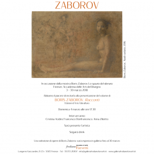"Boris Zaborov ""Racconti"""
