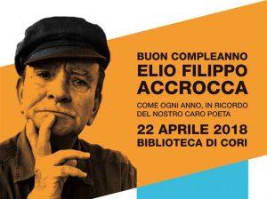 Buon Compleanno Elio Filippo Accrocca - 95° anniversario della nascita del poeta corese