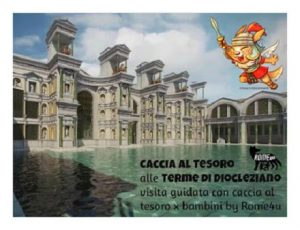 Caccia al tesoro alle Terme di Diocleziano