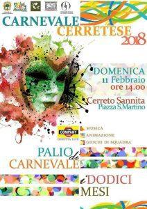 Carnevale Cerretese 2018
