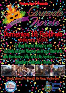 Carnevale Isprese 2018