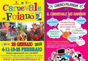 Carnevale Di Foiano 479^ ediz. del più Antico Carnevale D'Italia