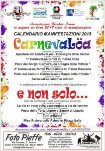 Carnevaloa - Sfilata Di Carri Allegorici E Sagra Delle Frittelle