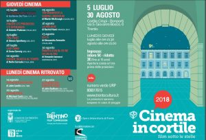 Cinema in cortile - Film sotto le stelle