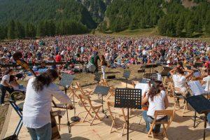 XXXVIII Concerto di Ferragosto Monviso Unesco