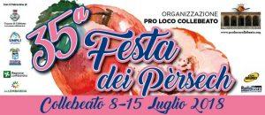 La Festa delle Pesche a Collebeato - 35^ Festa dei Persèch a Collebeato
