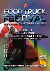 "Week end del Camionista e ""Truck and Food"""