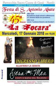 La Focara - 45^ Festa Di S. Antonio Abate