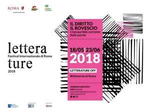 """""""LETTERATURE"""" - Festival Internazionale di Roma"""