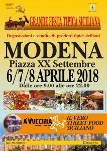 Grande Festa Folkloristica Siciliana a Modena