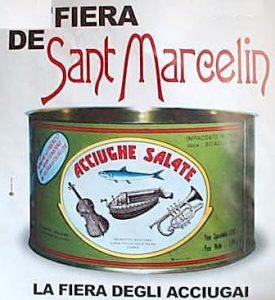 Festa de Sant Marcelin - la fiera degli acciugai