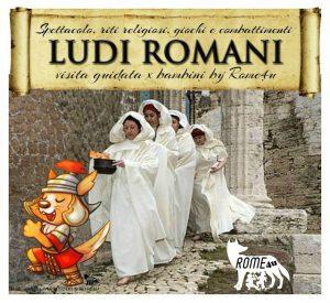 I Ludi Romani spiegati ai Bambini: spettacolo, riti religiosi, gare e combattimenti
