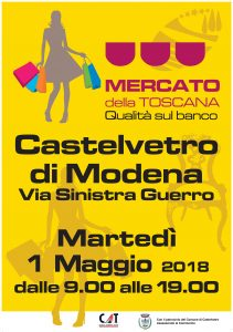 Mercato della Toscana a Castelvetro!