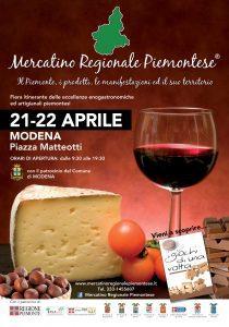 Mercatino Regionale Piemontese a Modena