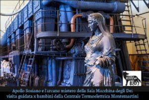 L'arcano Mistero della Sala Macchine degli Dei e del Treno a Vapore del Papa