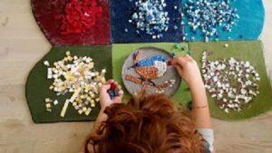 L'arte del Mosaico e l'agnellino di Sant'Agnese -Visita giocata per bambini