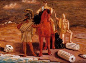 Giorgio de Chirico al museo Carlo Bilotti