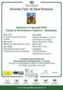 Festa Di S. Antonio A Borgo Di Mustonate