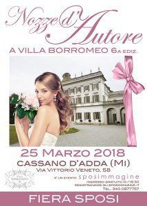 Nozze d'Autore a Villa Borromeo 6^ edizione