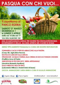 Pasqua al Parco Egeria
