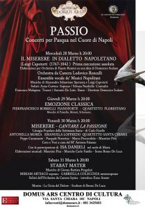 Passio - Concerti per Pasqua nel Cuore di Napoli