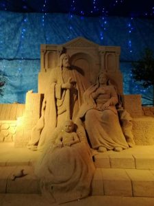 10^ ediz. Presepe Di Sabbia
