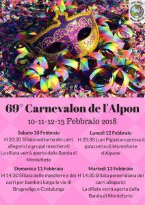 69° Carnevalon de l'Alpon