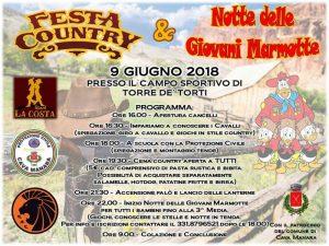 Festa Country & Notte delle Giovani Marmotte