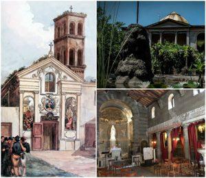 Santa Maria in Cappella, la chiesa, l'ospedale e i giardini della Pimpaccia