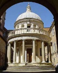 San Pietro in Montorio e il Tempietto di Donato Bramante