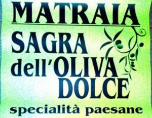 Sagra dell'oliva dolce
