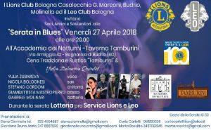 Serata in Blues - Evento di Beneficenza