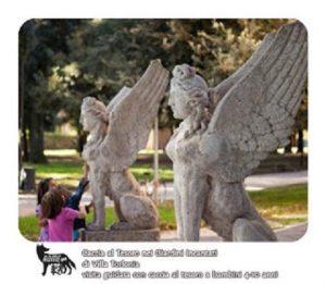 Caccia al Tesoro in maschera nei giardini di Villa Torlonia e della Casina delle Civette