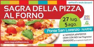 Sagra della Pizza al Forno a Ponte San Lorenzo