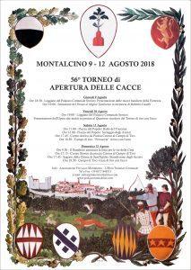 56° Torneo di Apertura delle Cacce - Montalcino 2018