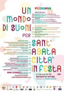 Un mondo di suoni per Sant'Agata città in festa