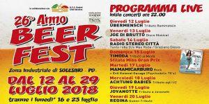 26° Solesino Beer Fest
